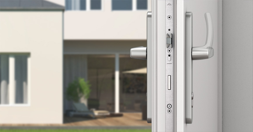 Mechanical Multi-Point Locking Systems for Lever-Handle Operated Doors & Product view Pezcame.Com