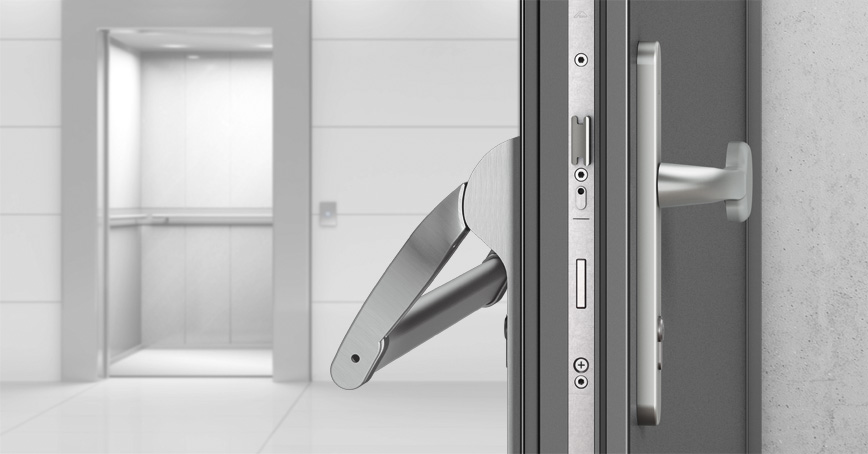 Mechanical multi-point locking systems for escape and panic doors  sc 1 st  Roto Fenster - Roto Frank & Panic doors (as per DIN EN 1125) - Roto Safe P - Roto Fenster- und ...