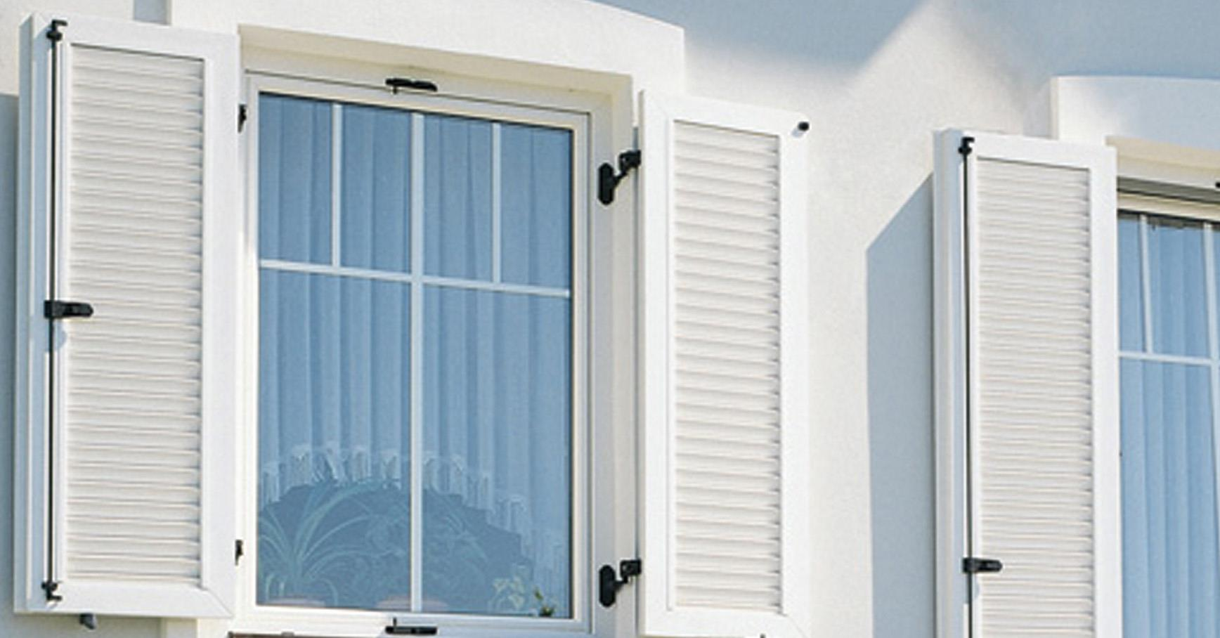 The Versatile Comfort Hardware System For Window Shutters